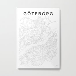 Gothenburg 2016 Metal Print
