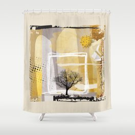 Fine Art of The Winter Smell Touching the Lonely Tree! Shower Curtain