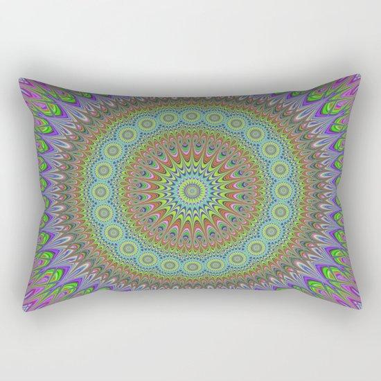 Mandala explosion Rectangular Pillow