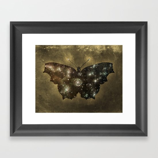 Cosmic Butterfly  Framed Art Print
