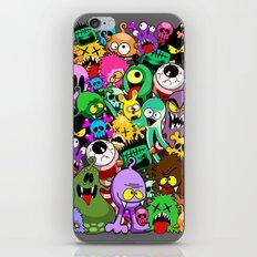Monsters Doodles Characters Saga iPhone Skin
