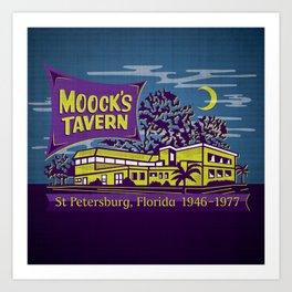 Moock's Tavern Art Print