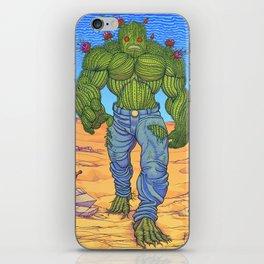 Cacto-humanoid iPhone Skin