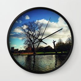 leicester abbey park Wall Clock