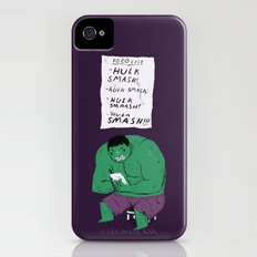 Hulk to do list. iPhone (4, 4s) Slim Case
