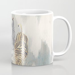 Metallic Zebras Coffee Mug