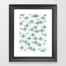 south Framed Art Print