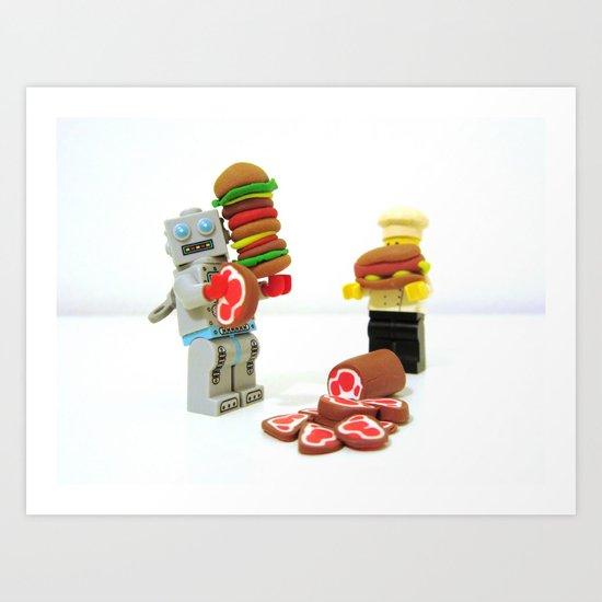 ESR LEGO Art Print