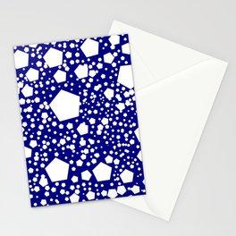 "Kalinka. ""Navy"" color Stationery Cards"
