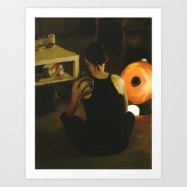 The Girl with the Dragon Tattoo: Lisbeth Salander Art Print