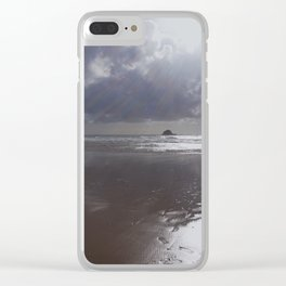 Dark shines Clear iPhone Case