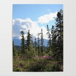 For Spacious Skies :: Purple Mountains Majesty Poster