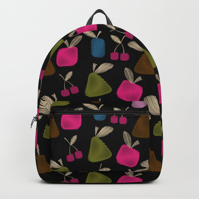 Funny cartoon multi -Frutti . Backpack
