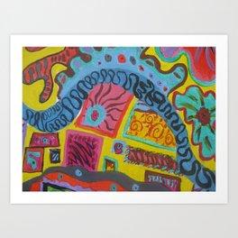 Abstract7 Art Print