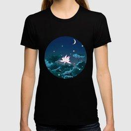 Minhwa: Lotus Pond at Night D Type T-shirt
