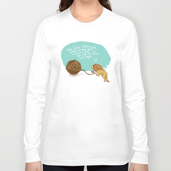 Unethical Mind Experiments on Miniaturized Animals Long Sleeve T-shirt