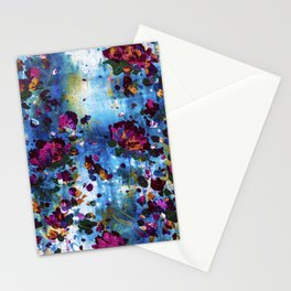 Love letters - Abstract - Flowers Stationery Cards