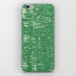 NYC Walls (zelen v.3) iPhone Skin