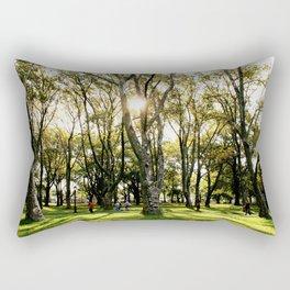 Fall at Kissena Park, New York City, NYC Nature  Rectangular Pillow