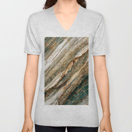 Marble Unisex V-Neck