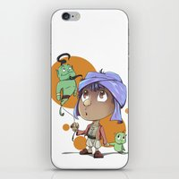 aladdin iPhone & iPod Skins featuring Cute Aladdin by EY Cartoons