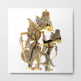Wayang Traditional Art Metal Print