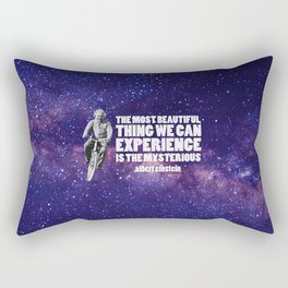 Einstein: The Mysterious Universe Rectangular Pillow