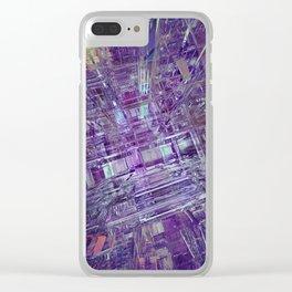 Blue Dream 04 Clear iPhone Case