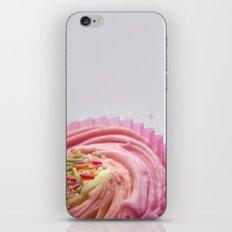 Pink Cupcake iPhone Skin