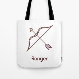 Cute Dungeons and Dragons Ranger class Tote Bag