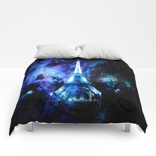 paRis galaxy dreams Comforters