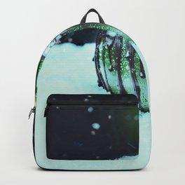Green Poison Apple Backpack