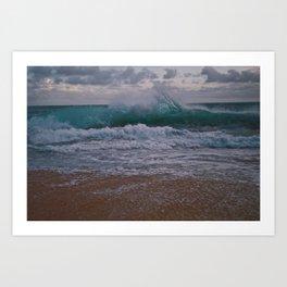 Endless Waves Art Print