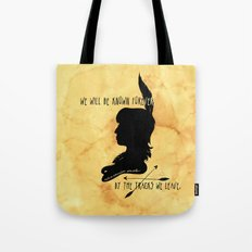 We Will Be Known Forever by the Tracks We Leave Tote Bag