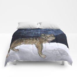 Wolf Moon Comforters