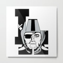 Raider Nation 4Life Metal Print