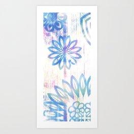 Pastel Embrace Art Print