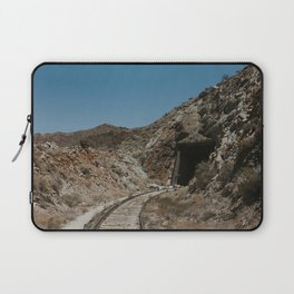 Mysterious Train Tunnel Laptop Sleeve