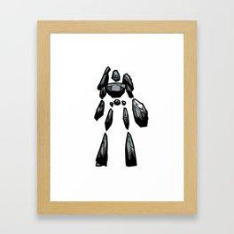 Rock Golem Framed Art Print