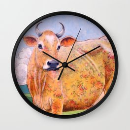 Rosy the Jersey Wall Clock