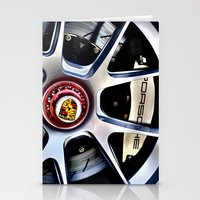 porsche Stationery Cards featuring Porsche Wheel by LeicaCologne Germany