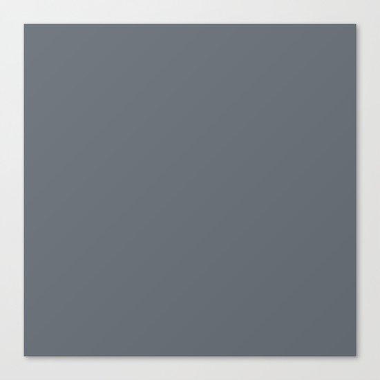 Pebble Gray Canvas Print