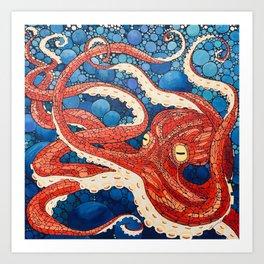 Big Squid Art Print
