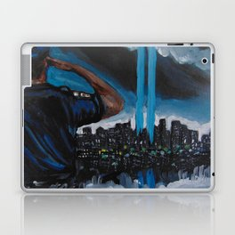 911 tribute for the fallen Laptop & iPad Skin