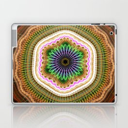 Grunge tribal pattern madala Laptop & iPad Skin