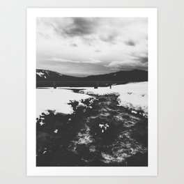 White River Art Print