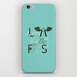 Love at First Sight and Bicycle iPhone Skin