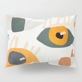 Abstract Art Eyes Pillow Sham
