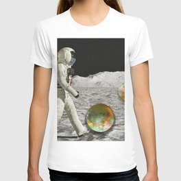 Moon Shot #collage T-shirt
