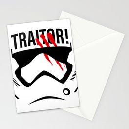 Traitor! Stationery Cards